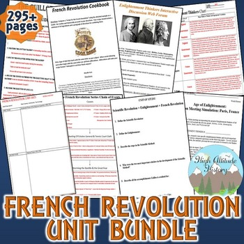 French Revolution Unit / Enlightenment & F.R. *Unit Bundle