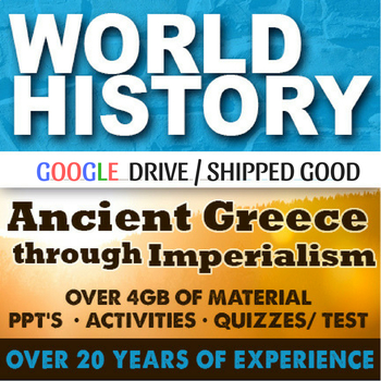 World History First Semester Ancient Greece-Imperialism Ac