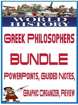 World History Greek Philosophers Unit Bundle
