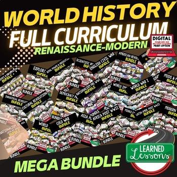 World History MEGA BUNDLE Renaissance to Modern Times