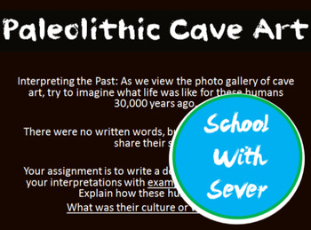 World History Paleolithic PowerPoint Cave Art History Less