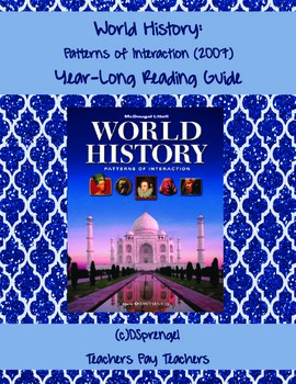 World History: Patterns of Interaction (2007) Year-Long Re