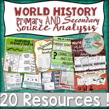 World History Primary and Secondary Source Analysis GROWIN