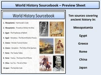 World History - Sourcebook