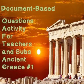 World History Teacher/Sub Activity: DBQ Ancient Greece Part 1