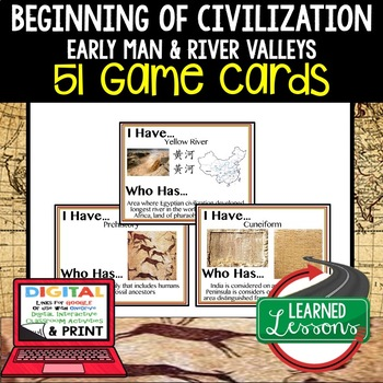 World History The Beginning of Civilization 51 I Have Who