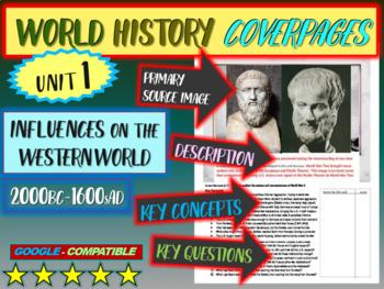 World History Unit 1 study guide: WESTERN WORLD (Key Terms