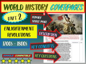 World History study guide 2: ENLIGHTENMENT REVOLUTIONS (Te