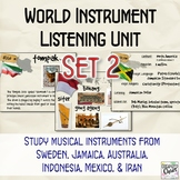 World Instrument Listening Unit: Set 2