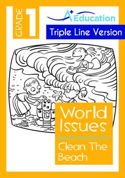 World Issues - Clean The Beach (II) - Grade 1 ('Triple-Tra