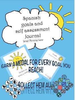 """""""Yo puedo"""" diario de metas del año para principiantes"""