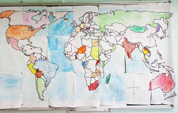 World Map - Huge Wall Poster