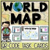 World Map QR Code Activity