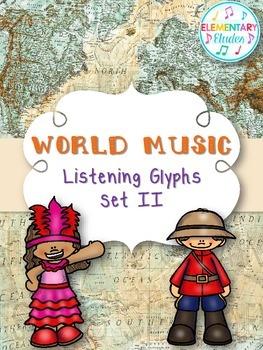 World Music Listening Glyphs Set II