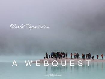World Population: Webquest with Worksheet