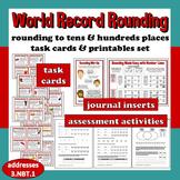 World Record Rounding - rounding to tens/hundreds task car