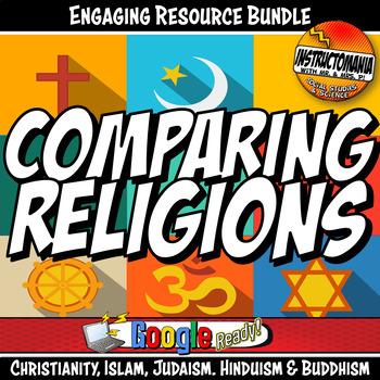 World Religion Bundle Activity and Informational Text Bundle