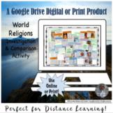 World Religions Comparison Activity Google Drive Interacti