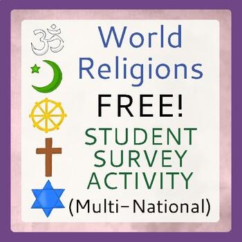 World Religions FREE Resource