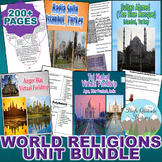 World Religions Unit *Unit Bundle* (World History / Compar