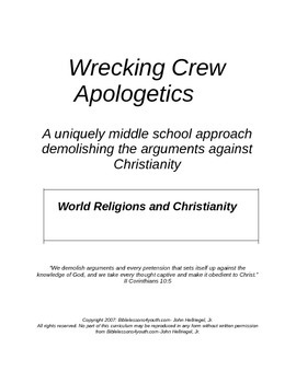 World Religions vs Christianity Bible lesson