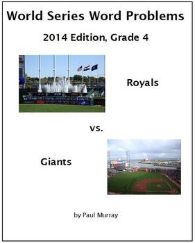 World Series Word Problems, 2014:  Grade 4