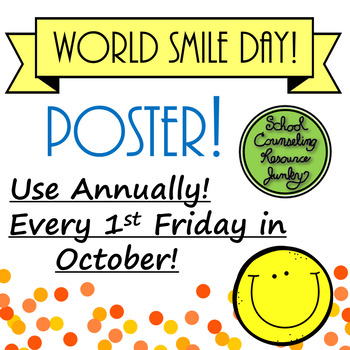 World Smile Day: Who Will You Share a Smile With? #october