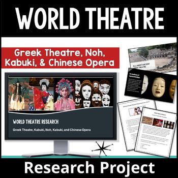 World Theatre Research: Greek Theatre, Chinese Opera, Noh,