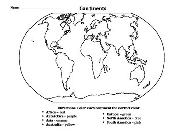World & US Geography Practice Worksheets