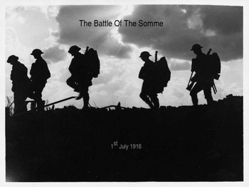World War 1 - Battle of the Somme