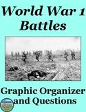 World War 1 Battles Chart