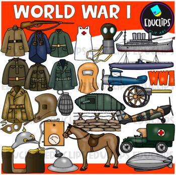 World War 1 Clip Art Bundle