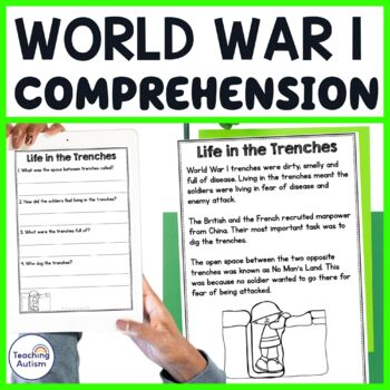 World War 1 Comprehension