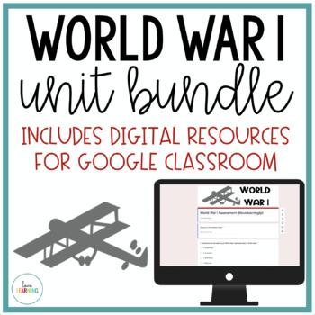 World War 1 Unit {Lesson, Study Guide, Activities, Assessment}