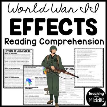 World War II (2)- Effects, Reading Comprehension, United N