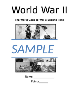 World War 2 Video and Activity Bundle Pack
