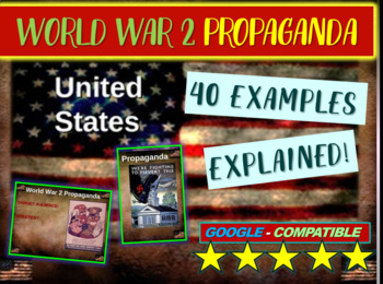 World War 2 (WWII) US propaganda: 40 examples (6 themes) o