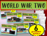 World War 2 (WWII): VISUAL, TEXTUAL, ENGAGING; 6 PPTs-in-o