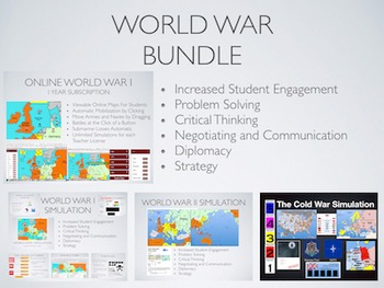 World War Bundle: WWI, WWII & Cold War + Online Year Subsc