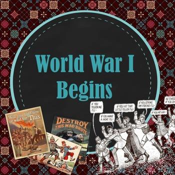 World War I Begins PowerPoint
