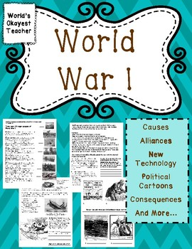 World War I: Causes, Alliances, Weapons, and Consequences