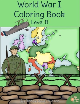 World War I Coloring Book