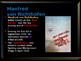 World War I - Flying Aces - Manfred von Richthofen - The R