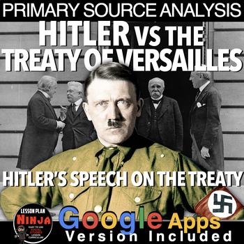 World War I Hitler vs Treaty of Versailles Primary Source