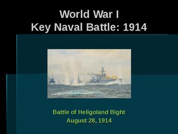World War I - Key Naval Battles - Battle of Heligoland Bight