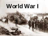 World War I PowerPoint - U.S. History