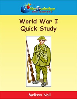 World War I Quick Study
