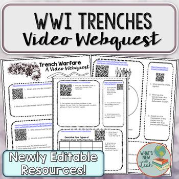 World War I Trenches Webquest