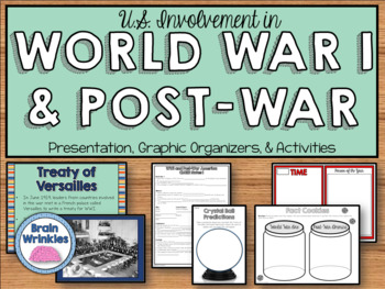 World War I and Post-World War I America (SS5H4)