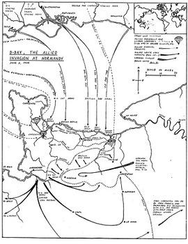 World War II Map Set